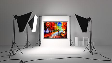 Nous Pouvons Vous Offrir Un Service De Photographie Professionnelle En Studio Vos Toiles Fournirons Des Fichiers Numriques Hautes Rsolutions